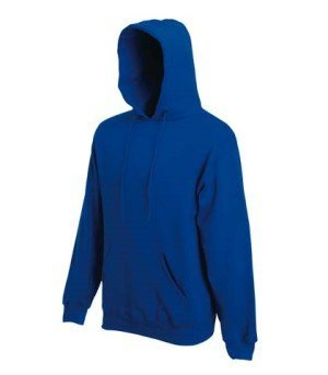 Sweatshirt * Hooded Sweat * Fruit of the Loom Royal,S
