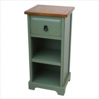 Nightstands With Drawers: One Drawer Tall Nightstand