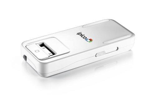 【期間限定】コードホルダープレゼント iPhone iPad iPod用 ミニプロジェクター★ Apple認証★   ☆1年間保証付☆【General Imaging PJ205 『ipico』 Hand-held Projector】