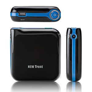 New Trent iCruiser IMP1000 11000mAh External Battery Pack and Charger for iPad2, iPad, iPhone 4S 4 3Gs 3G (AT&T and Verizon), iPod Touch (1G 2G 3G 4G 5G), HTC Android EVO, Blackberry, Samsung Galaxy Tablet, Samsung Galaxy S, Droid, Nintendo, Sony PSP and much more