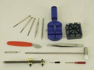 Profi Uhrenwerkzeug 14-tlg Gehäuseöffner Armbandkürzer