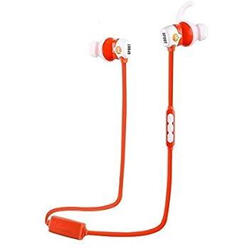 Edealing(TM) スポーツワイヤレスBluetooth iPhoneアプリHTCレノボサムスンのタブレットPCレッド用マイクを使って4.0イヤホンヘッドフォンヘッドセット