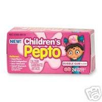 Amazon.com: Pepto Children Chewable Tablets Bubble Gum ...