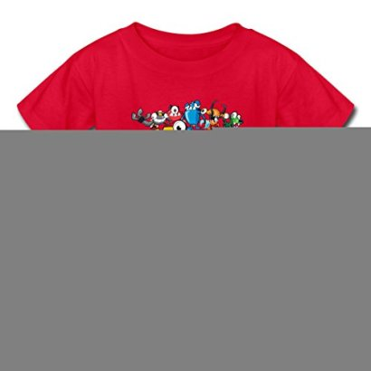 Adjustable-Mixels-Outdoor-Young-T-Shirts-LLUTEE-Red-Medium