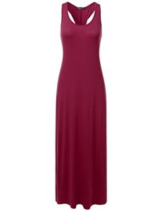 DRESSIS-Womens-Scoop-Neck-Twisted-Racerback-Sleeveless-Long-Maxi-Tank-Dress-S-to-3XL