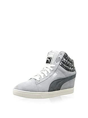 PUMA Women's PC Wedge NC Sneaker (Quarry)