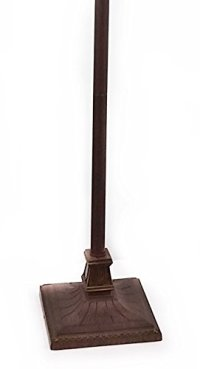 #1 Tiffany Noir Mission Style Torchiere Floor Lamp with ...
