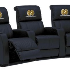 Notre Dame Chair Round Microfiber Recliners Fighting Irish Leather Theater 4 Seats With Curved Configuration Reviews