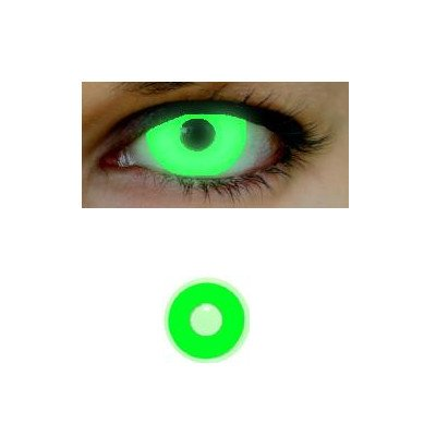 Farbige Kontaktlinsen EYE 2 EYE GLO UV green