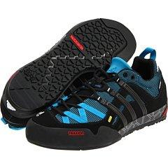 Buy adidas OUTDOOR - Terrex Solo Approach Shoes - Sharp Blue/Black/Spray - 7