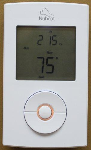 Nuheat Solo Floor Heating Programmable Thermostat 120