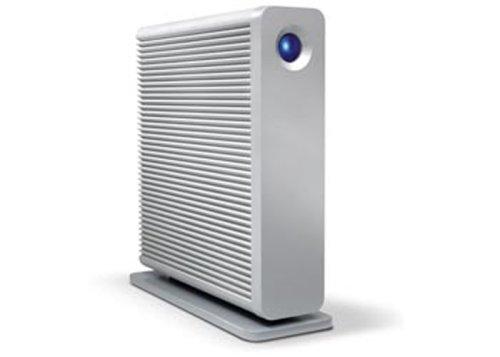 LaCie d2 Quadra Hard Disk 1 TB eSATA/FireWire800/FireWire400/USB 2.0 Desktop External Hard Drive 301442U (Aluminum)