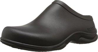 Bogs Men's Stewart Slip Resistant Work Shoe, Black, 11 M US