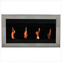 Square I Fireplace Size: Extra Large | Electric fireplace