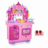 Amazon.com: Disney Princess Deluxe Talking Kitchen [Toy ...