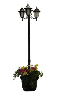 5#J5Special Cheap Web 7 ft (85 in) Tall Solar Lamp Post ...