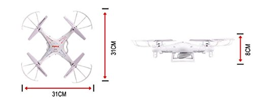 Syma X5C 2.4G 6 Axis Gyro HD Camera RC Quadcopter with 2