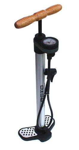 BETO HITEC 63791 ALU Standluftpumpe Luftpumpe Hubpumpe Manometer 11bar