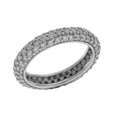 Cheap Diamond Eternity Bands 14k White Eternity 165 Ct