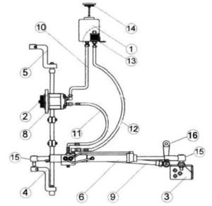 Ford / Ford New Holland New Power Steering Kit Fd105 Fits
