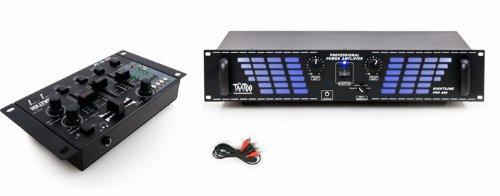 PA DJ 1200 Watt Verstärker USB Mischpult DJ-539