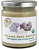 Dastony - Stone Ground Nut & Seed Butters: 01/8 oz Jar of Organic Sesame (Tahini) 100%