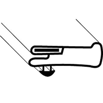 ANTHONY REFRIGERATION DOOR GASKET (28-3/4 X 62-1/8) 2