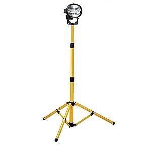 Defender 110V Single Head Work Light C/ W Stand: Amazon.co