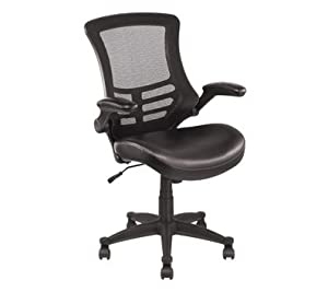 Amazoncom  OfficeMax Mesh Cantilever Managers Chair