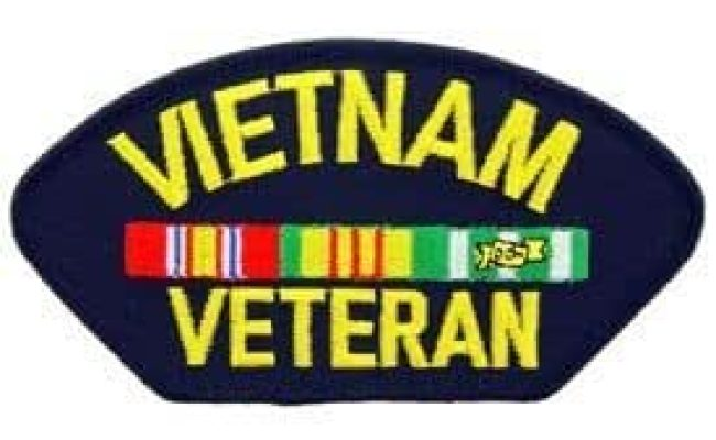 Vietnam Veteran Embroidered Patch Military Collectibles