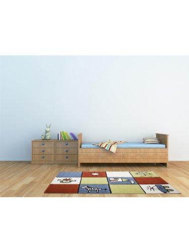 obsession tapis enfants pour chambre d enfants california kids squares pas cher multicouleur 160x230 cm sdfdwv mhgbjfythjtqw