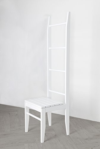 ᐅ bonVIVO® Leiterregal VIVIENNE, vielseitiges Badezimmer-Regal mit abnehmbaren Wäschekorb und 3