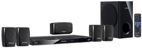 Panasonic SC-BTT270EGK 5.1 3D-Blu-ray Heimkinosystem (WLAN-ready, digitale iPod/iPhone Dock, SDXC, 2 x USB, 1000 Watt) schwarz