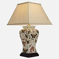 Large Oriental Ceramic Table Lamp (M9955)