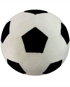 Soccer Sports Pillow by Komet Creations