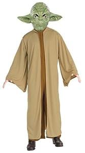 Homemade Yoda Halloween costume