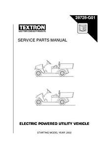 Free download program Ezgo Electric Service Manual