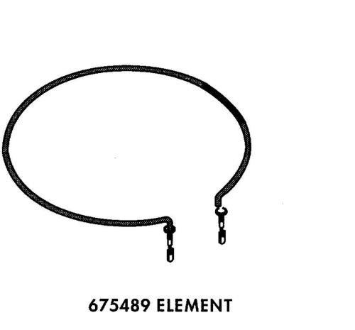 Whirlpool WHIRLPOOL 675489 HEATING ELEMENT