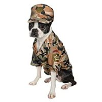 Army costumes for dogs
