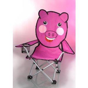 Campingkinderstuhl / Kinderstuhl / Klappstuhl / Kinderstühle / Mini - Stuhl / Camping- und Outdoorstuhl für Kinder Schwein