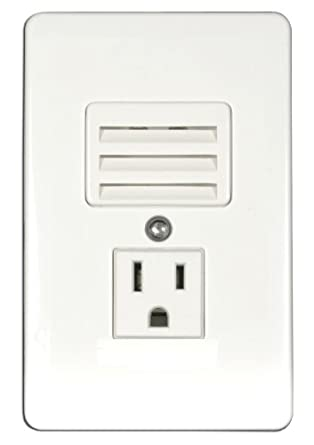 American Lighting RNLS-3 In-Wall Outlet/LED Night Light