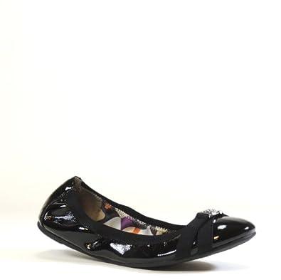 Cheapest Coach Women's Dwyer Ballet Flat (Black/Purple Multi) For Sale Online