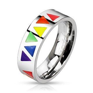 Inexpensive Gay Pride Wedding Rings Or Engagement Rings