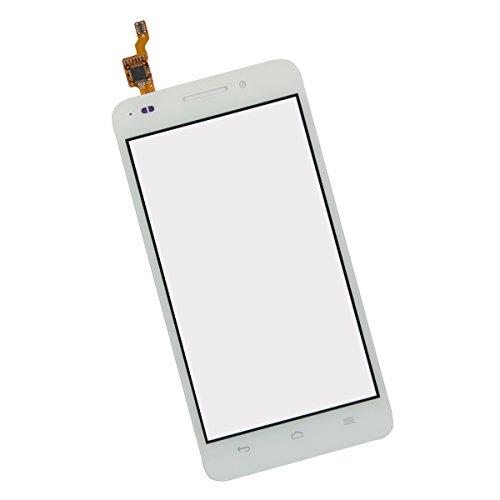 SKILIWAH® Huawei Ascend G620S交換用 タッチパネルデジタイザー  フロントガラス 工具セット付き 修理パーツ部品 白