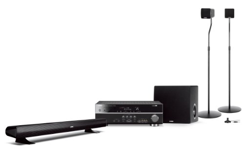 Yamaha YHT-594 Bl 5.1 Heimkinosystem (HDMI, Upscaler 1080p, Full HD, 700 Watt)