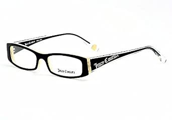 Amazon.com: Juicy Couture Eyeglasses Sonia Black Horn