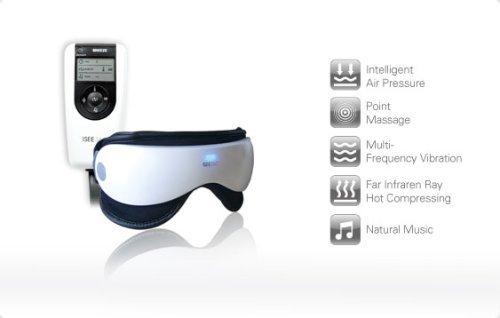 Pellor iSee 360 EyeMassager 空気圧 アイマッサージャー お灸の効果 疲れ目にお悩みの方へ 気持ち良くなり お誕生日・ギフト/健康ギフト