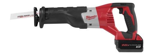 Milwaukee 2620-22 18-Volt Sawzall Kit with 2 Batteries