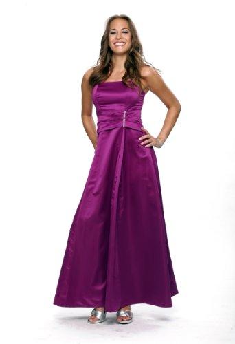 Elegantes langes Abendkleid, Farbe purple, Gr.44 von Astrapahl