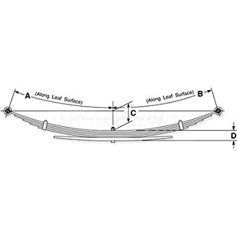 Amazon.com: Toyota Tundra Replacement Leaf Spring (4